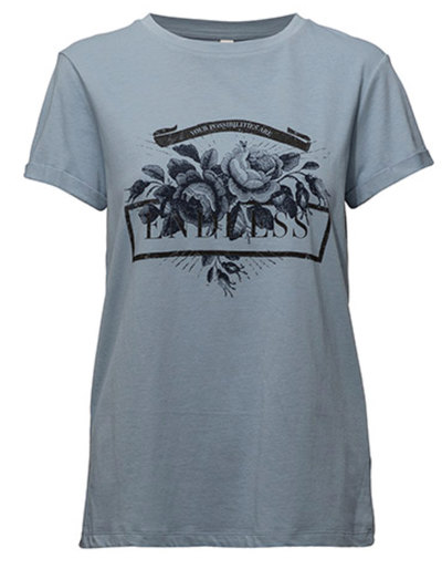 0 Ingun T-shirt Misty Blue