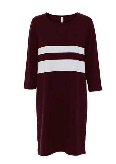 0 Dress Dena Stripe Tile Red