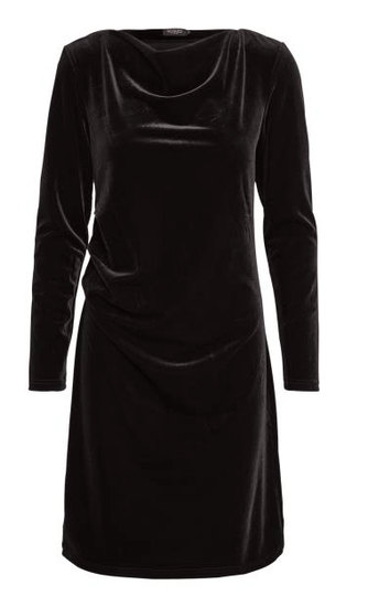0 Addison Velour Dress