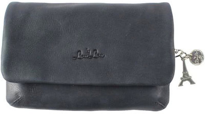0 Bovine Medium Clutch Black
