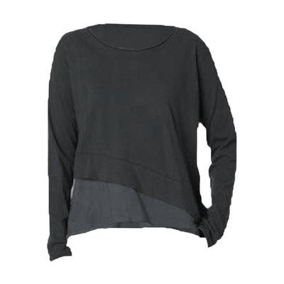 0 Blouse Jersey Vintage Black