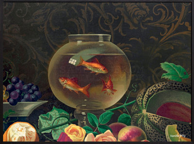 0 Juliste/Poster Gold Fish Bowl 40X30