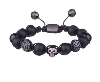 0 Shamballa Bracelet Black Unisex