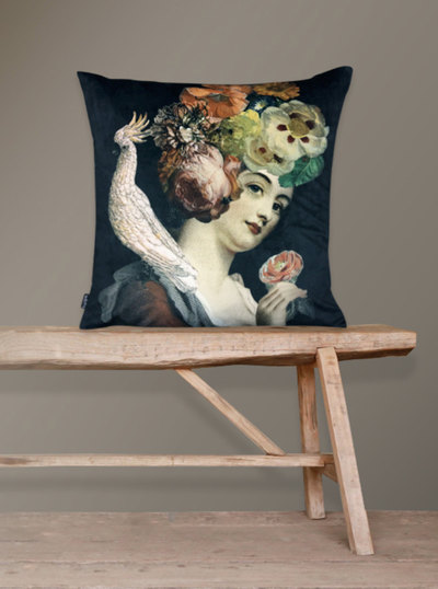 0 Tyynyliina & Tyyny/Pillow Cover & Pillow 50X50 Rosalil