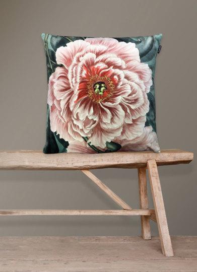 0 Tyynyliina & Tyyny/Pillow Cover & Pillow 50X50 cm Peony