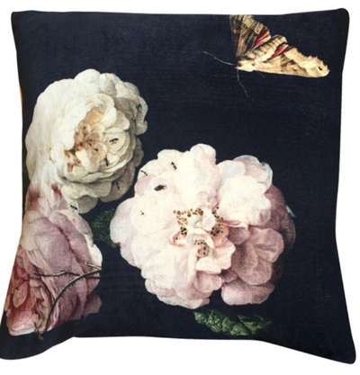 0 Tyynyliina & Tyyny/Pillow Cover & Pillow 50X50 cm Velvet Rose