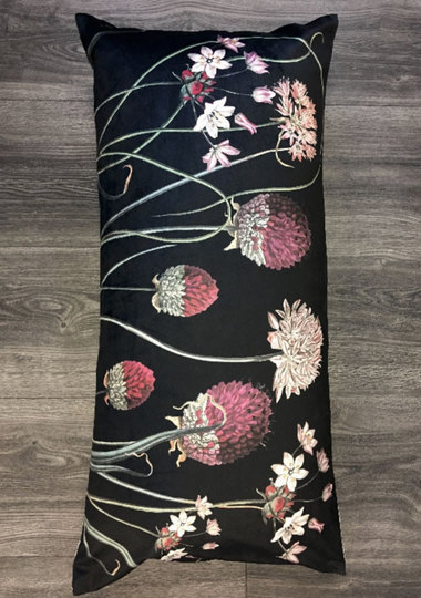 0 Tyynyliina/Pillow Cover 40X80 Allium