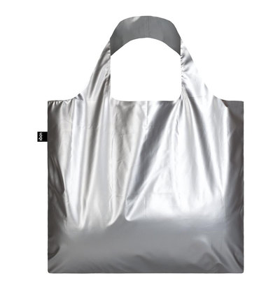 0 Metallic Matt Silver Bag