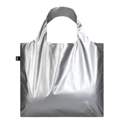 0 Metallic Matt Silver Bag