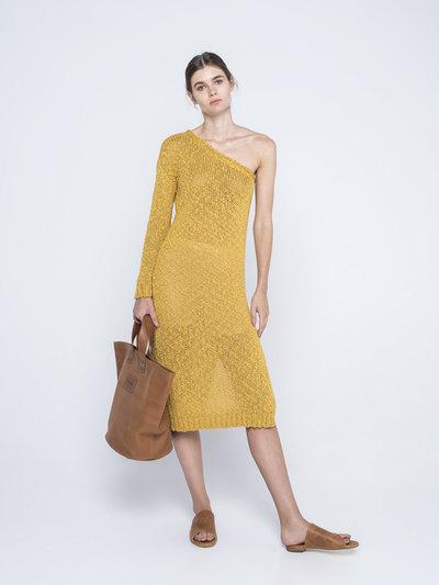 0 Perfect Vividness One Shoulder Dress
