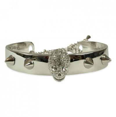 0 Stud Skull Bracelet Bright