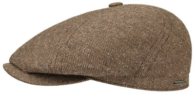 0 6-panel Silk/Cotton Cap brown
