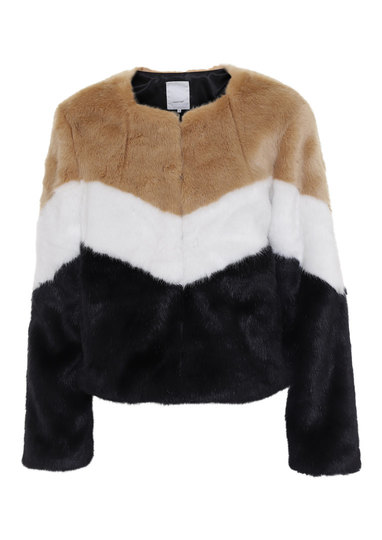0 Adile Vegan Fur Jacket