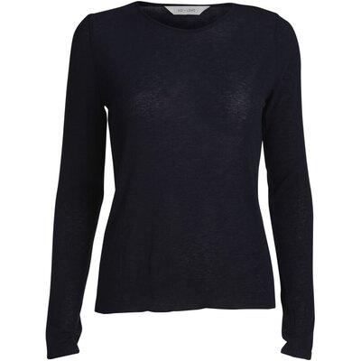 0 Agnete Wool Top Black