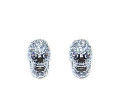 0 Bad Touch White stud earrings/nappikorvakorut