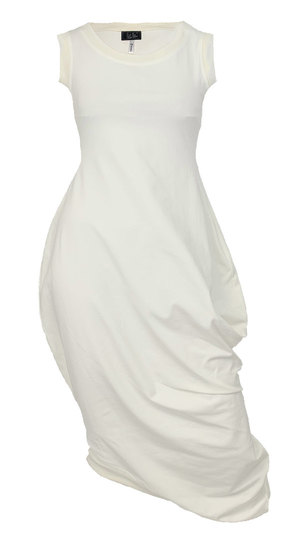 0 Beehive I Dress Cream White LIMITED EDITION