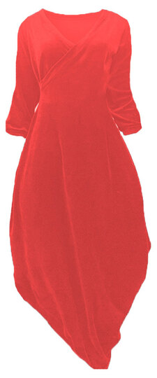 0 Beehive II Wrap Velour Red