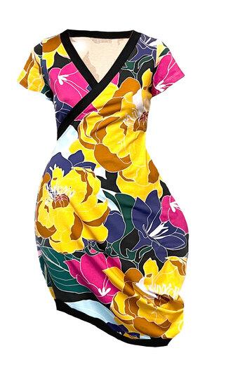 0 Beehive Tee Dress wrap petit Flowerstorm