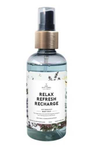 0 Body Mist Relax Refresh Recharge
