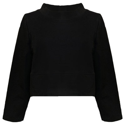 0 Box Sweater Black