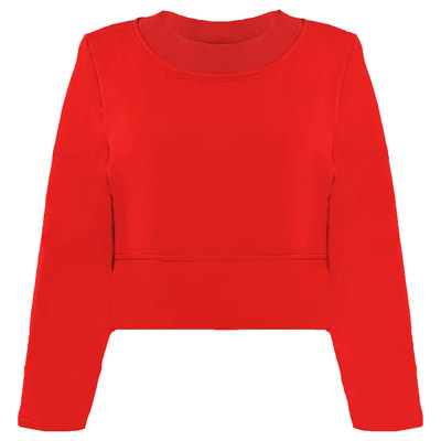 0 Box Sweater Red