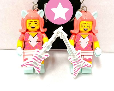 0 Cat Girl Guitarist Legokorvakorut
