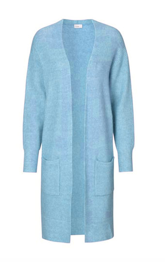 0 Cille Cardigan Light Turquoise
