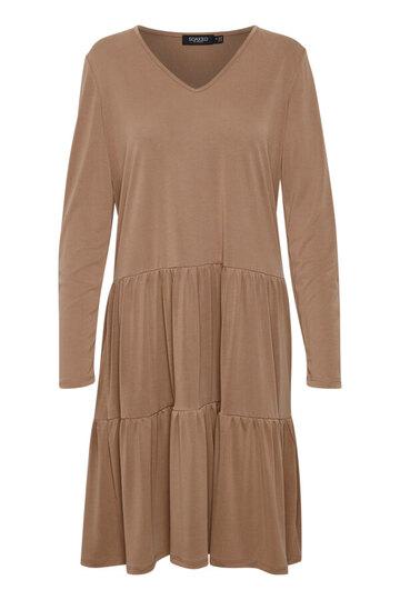 0 Colissa v-neck dress Brownie