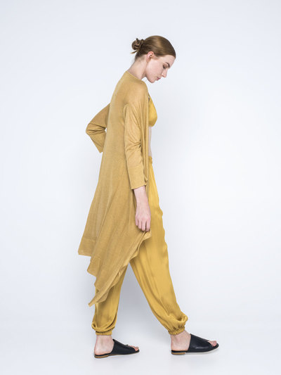 0 Diaphanous Long Cardigan (2 väriä/2 colours)