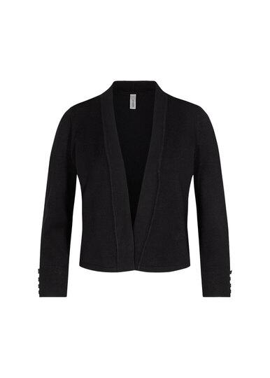 0 Dollie Short Knit Cardigan Black