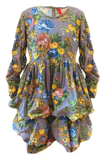 0 Dress Flower Cotton