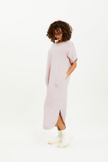 0 Dress Long Blush