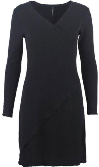 0 Dress asymmetrical Design Black