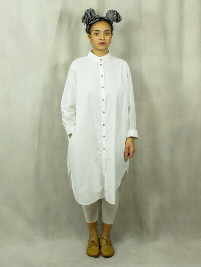0 ERNTEMPER SHIRT / SHIRT DRESS