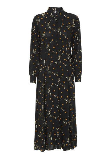 0 Ebony Shirt Dress/Paitamekko 2 väriä/colours