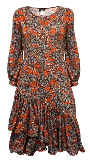 0 Eedas Dress Petit Rust Song