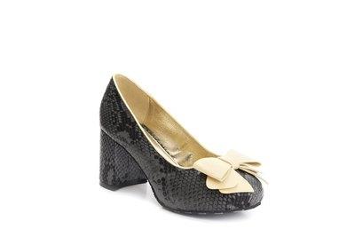 0 Eileen Tangle Tolppakorko-Block Heels Vegan Leather