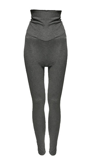0 Elsa Leggins Dark Grey Melange