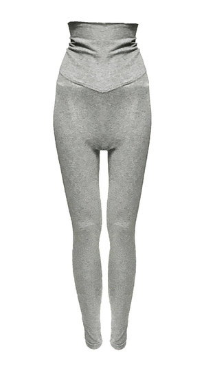 0 Elsa Leggins Light Grey Melange