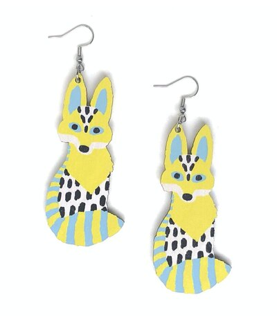 0 FOX EARRINGS