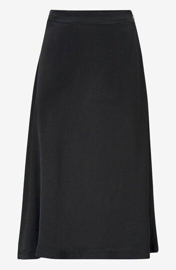 0 Florence satin skirt