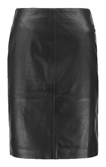0 Folly Leather Skirt Black