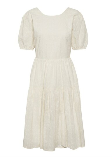 0 Glaise  Dress Whisper White