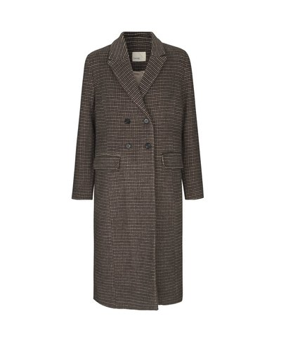 0 Gulva Checked Wool Coat