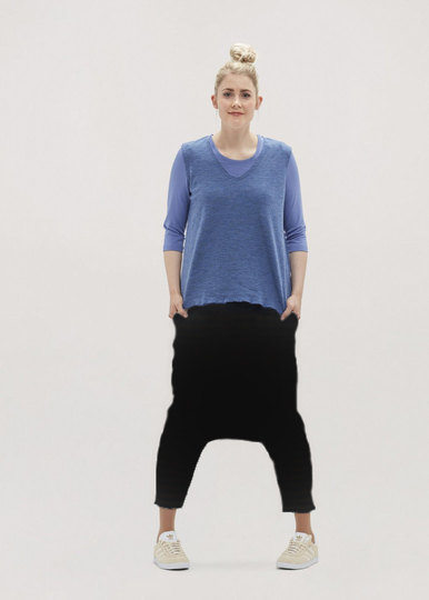 0 Harem Pants Wool (2 väriä/colours)