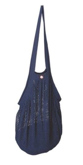 0 Heavy Stringbag/verkkokassi Jeans Blue