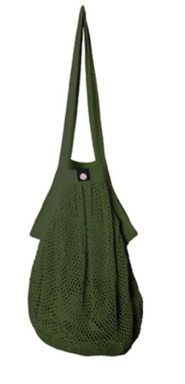 0 Heavy Stringbag/verkkokassi Olive