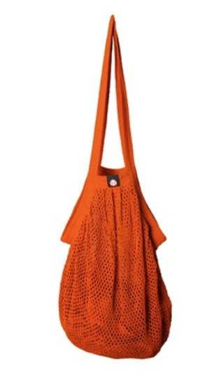 0 Heavy Stringbag/verkkokassi Orange