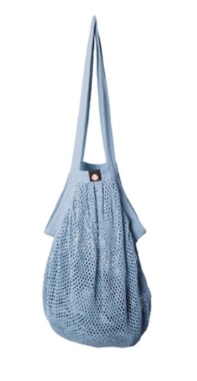 0 Heavy Stringbag/verkkokassi Pastel Blue