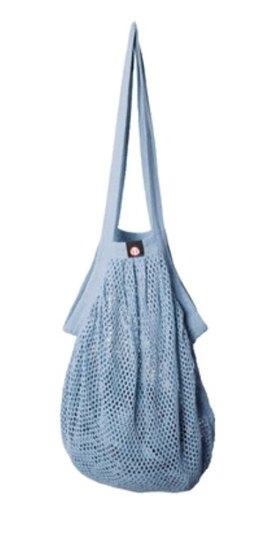0 Heavy Stringbag/verkkokassi Pastel Blue